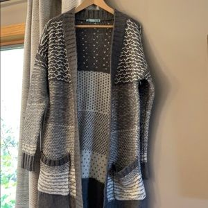 Maurice's loose knit cardigan